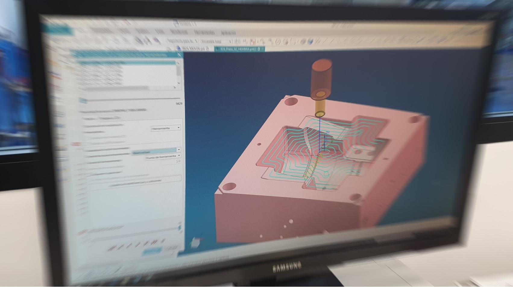 Diseño 3D de Moldes de Plástico