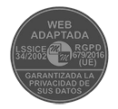 Sello Web Adaptada RGPD