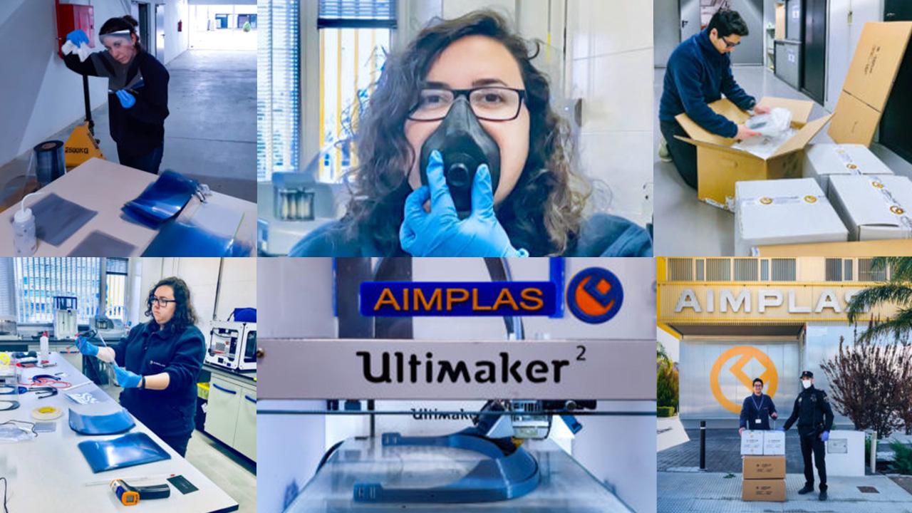 AIMPLAS diseña una nueva mascarilla de filtros intercambiables