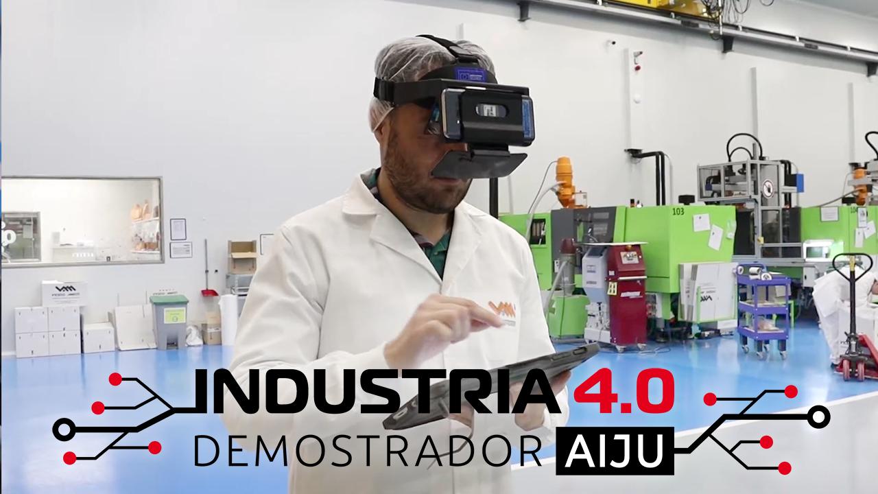 Proyecto TALLER 4.0: demostrador de la Industria 4.0 en el sector de la transformación de plástico.