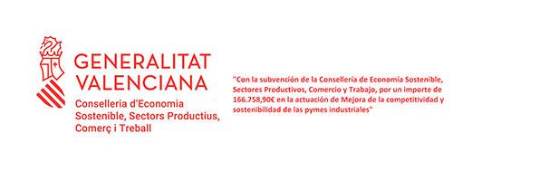 Subvención Generalitat - competitividad