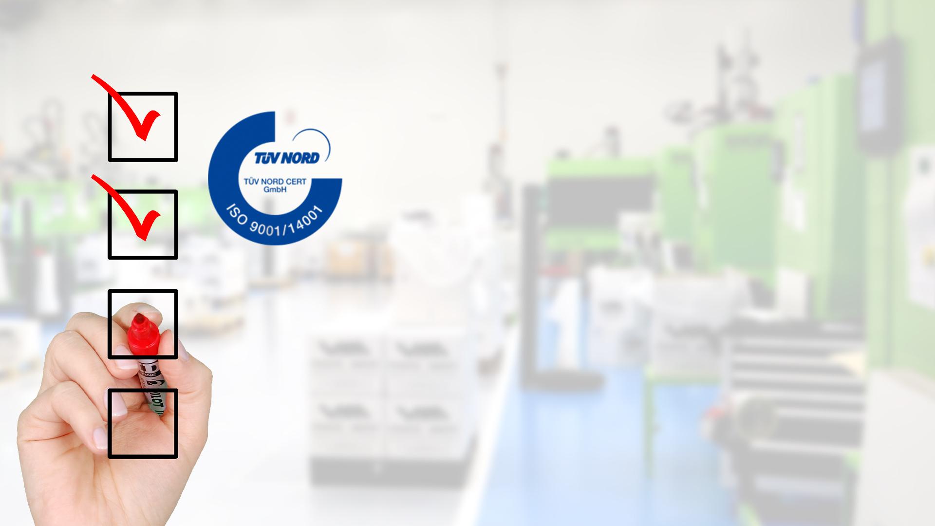Vicedo Martí mantiene la certificación de las normas ISO 9001:2015 y 14001:2015