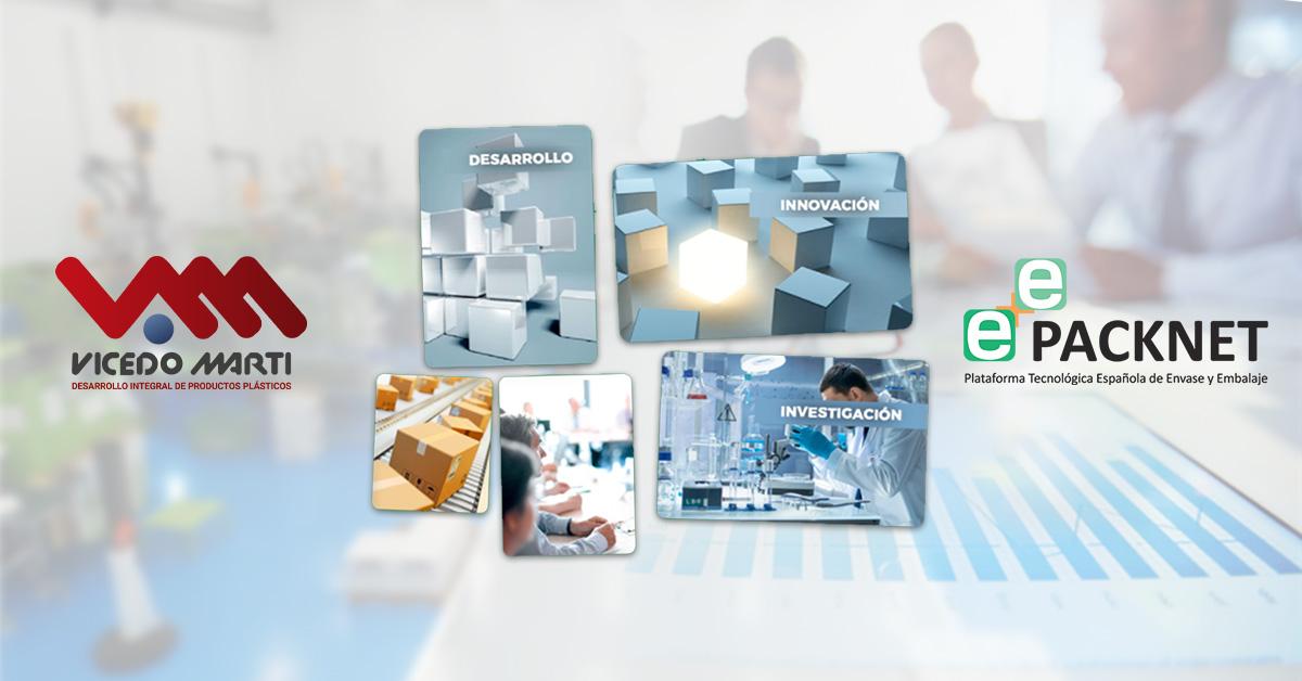 VICEDO MARTÍ se asocia a PACKNET, Plataforma Tecnológica Española de Envase y Embalaje