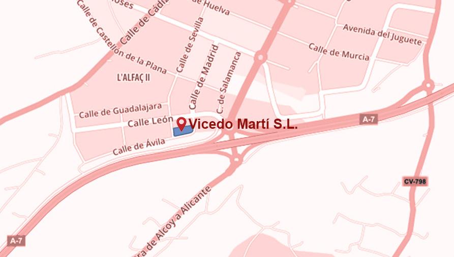Vicedo Martí - cómo llegar