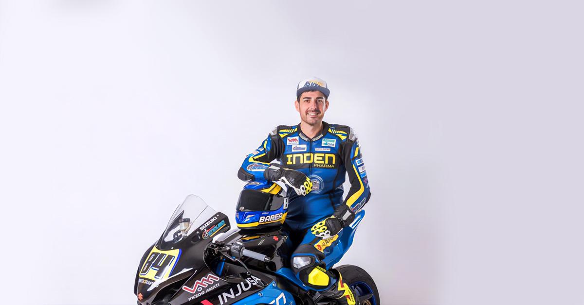 Vicedo Martí patrocina un año más al motociclista Rubén Barea